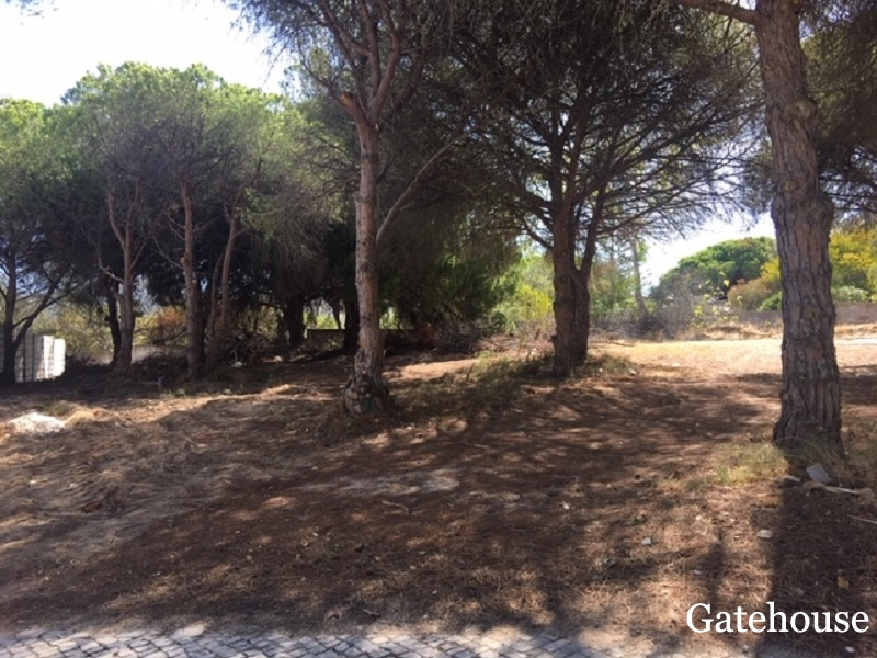 Sea View Building Plot In Vale do Lobo Algarve
