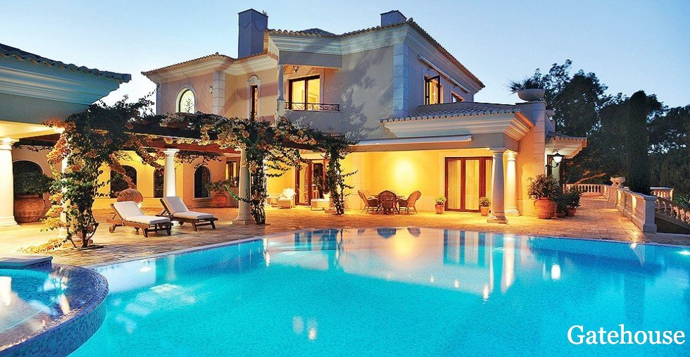 Algarve Luxury Villas For Sale In Vilamoura Gatehouse