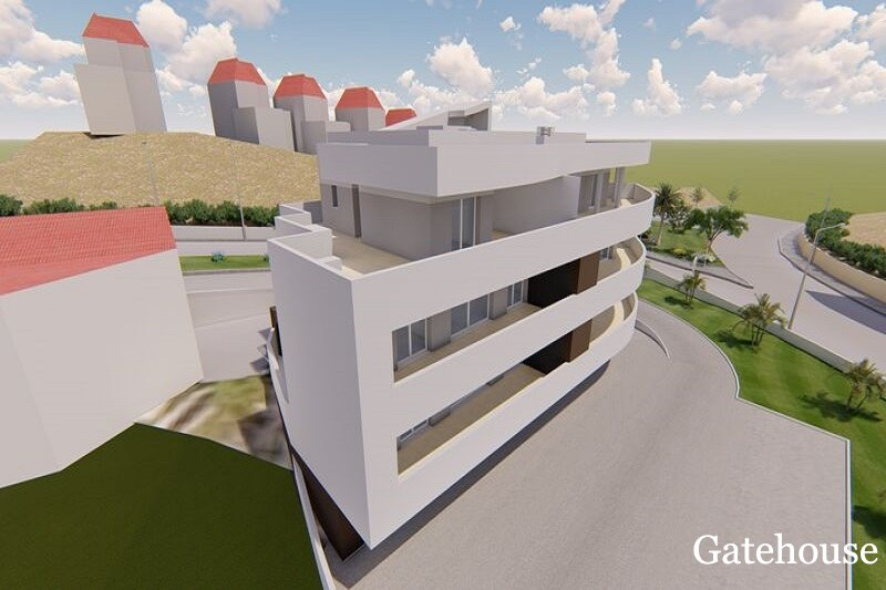 Brand new 3 bed Duplex Apartment In Lagos Centre Algarve