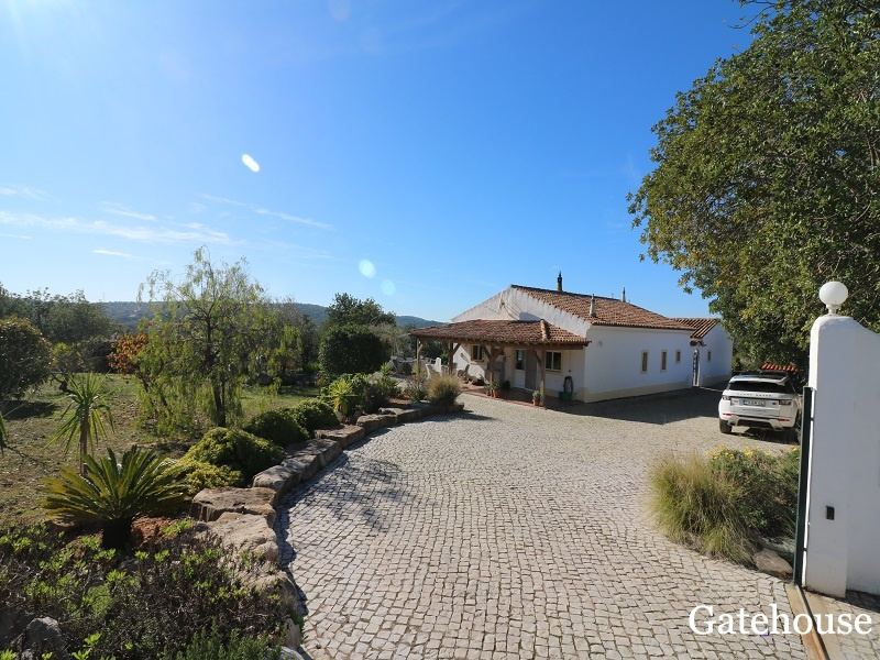 4 Bed Property With 2 Villas In Sao Bras de Alportel Algarve