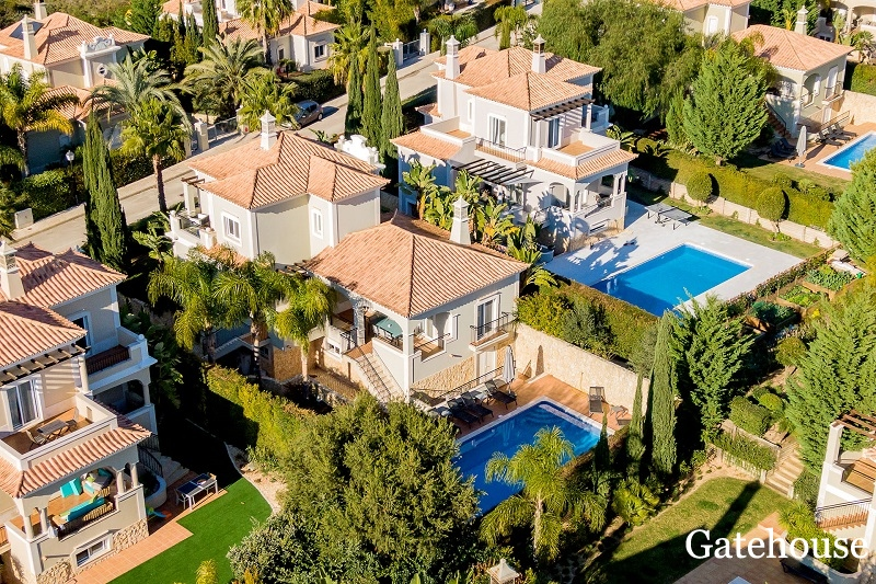 4 Bed Villa For Sale In The Crest Almancil Algarve