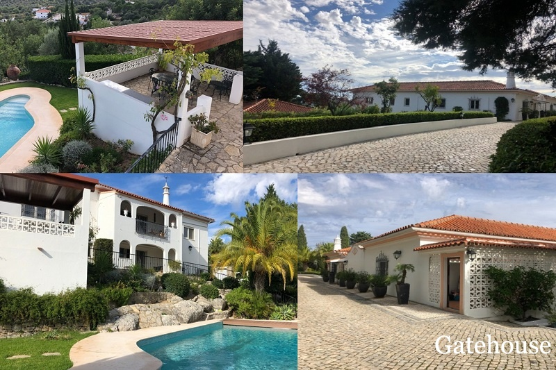5 Bed Sea View Villa In St Barbara de Nexe Algarve