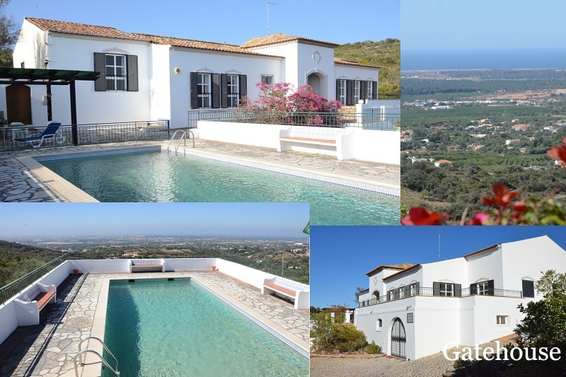 5 Bed Traditional Villa For Sale In St Barbara Algarve