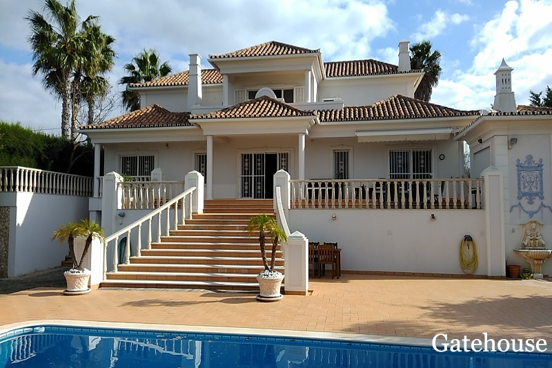 5 Bed Villa In Fonte Algarve Almancil Algarve
