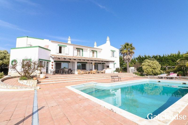 6 Bed Villa With Great Views For Sale In Boliqueime Algarve