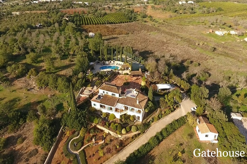 8 Bed Villa With 1.98 Hectares In Tavira Algarve