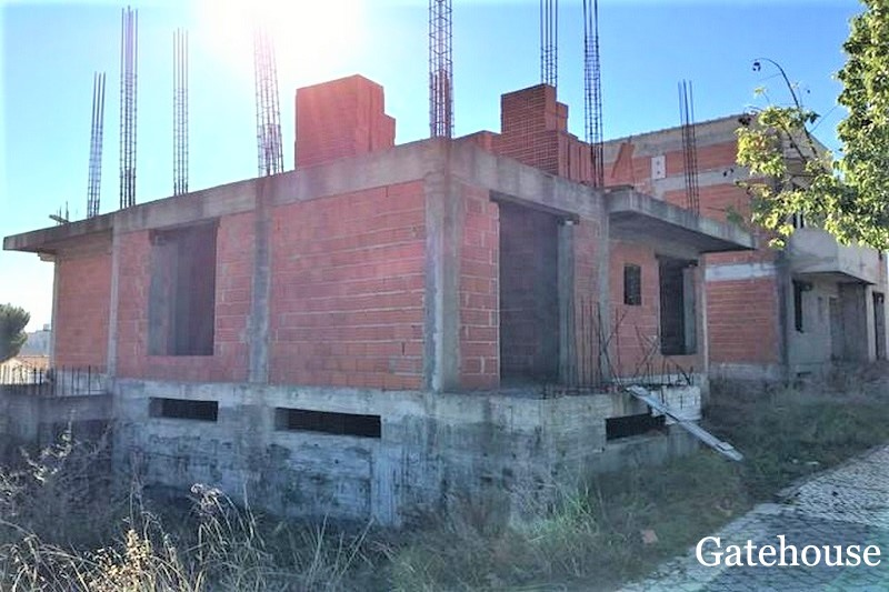 Algarve Bank Repossession Unfinished Villa In Tavira