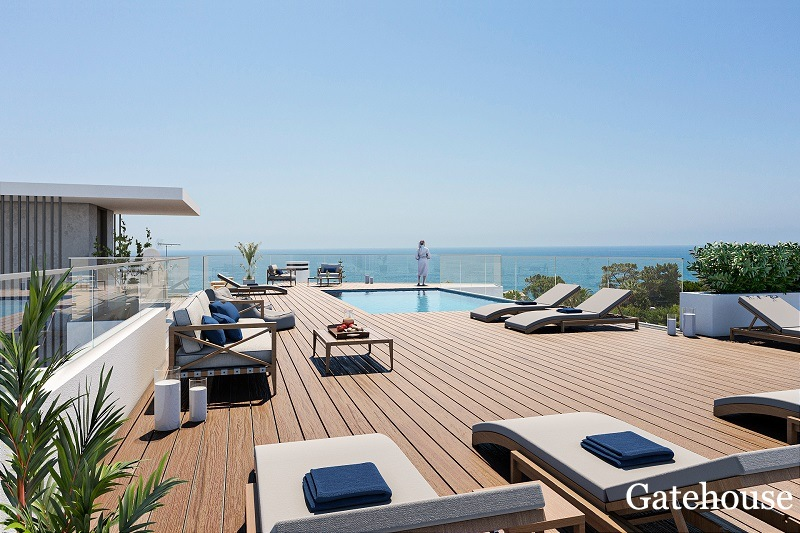 Brand New Beach 2 Bed Apartments In Olhos d Agua Algarve