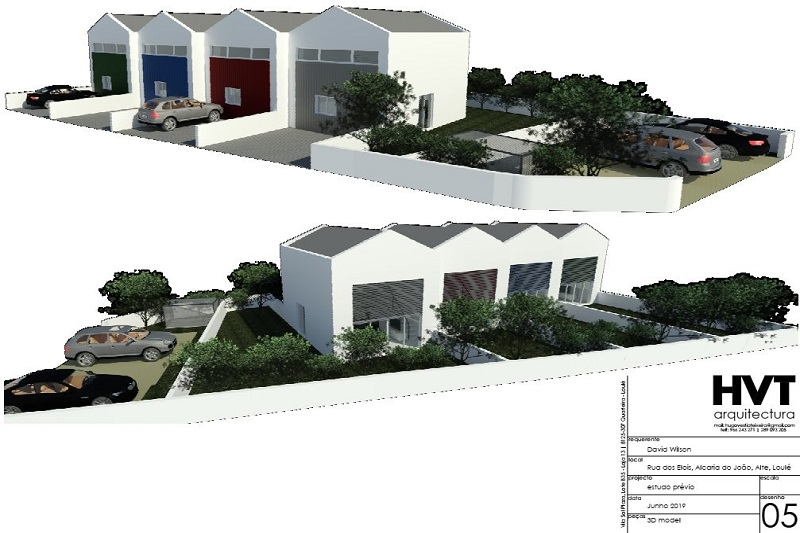 Building Plot With Project In Central Algarve For Sale