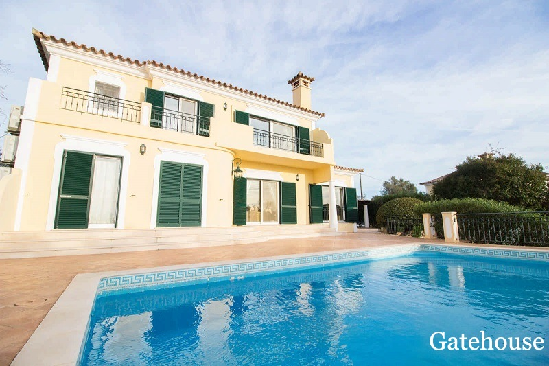 Sea View Almancil Villa For Sale In Vale Formoso Algarve