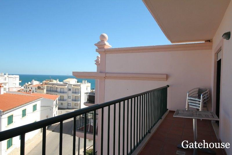 Top Floor Sea View 2 Bed Apartment For Sale In Algarve